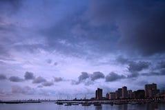 сумрак зданий Стоковая Фотография