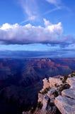 сумрак каньона грандиозный Стоковое Фото