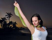 сумрак красотки тропический Стоковые Фото