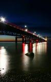 сумрак моста Стоковое фото RF