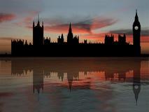 сумрак расквартировывает парламента бесплатная иллюстрация