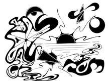 сумрак иллюстрация штока
