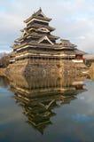 сумрак matsumoto замока Стоковые Фото
