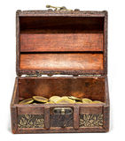 Сундук с сокровищами Стоковые Фотографии RF