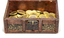 Сундук с сокровищами Стоковые Фото
