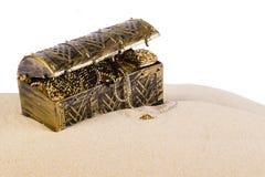 Сундук с сокровищами стоковое фото rf