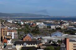 Суонси, Уэльс Великобритания Стоковое фото RF