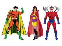 Супергерои #1 Стоковые Фото
