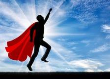 Супергерой бизнесмена супермена бесплатная иллюстрация