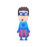 Супергерой в различных представлениях Стоковая Фотография