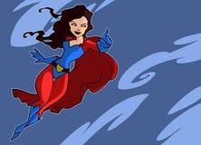 Супергерой в ярком костюме Стоковые Фотографии RF