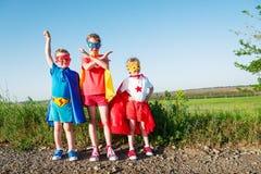 Супергерой детей Стоковая Фотография RF