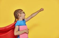 Супергерой детских игр Стоковое фото RF