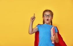 Супергерой детских игр Стоковые Фото