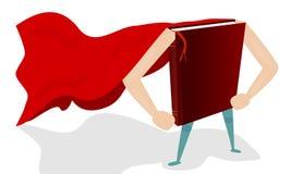 Супергерой книги Стоковое Изображение