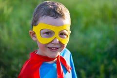 Супергерой ребенка Стоковое фото RF