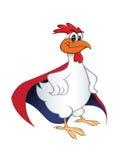 Супергерой цыпленка Стоковое Изображение RF
