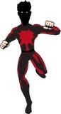 супергерой человека Стоковая Фотография RF