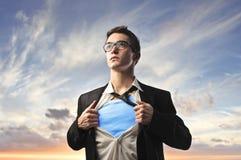 супергерой Стоковое Фото