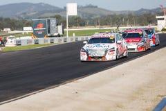 Суперкары Австралии девственницы, Winton, Австралия стоковое фото rf