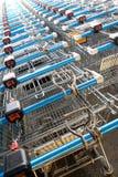 супермаркет диаграмм ходя по магазинам Стоковые Изображения RF
