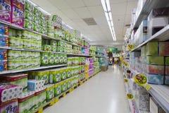 Супермаркет лотоса Tesco Стоковая Фотография