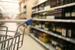 супермаркет покупкы Стоковое Изображение RF