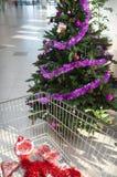 супермаркет покупкы Стоковая Фотография