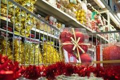 супермаркет покупкы Стоковые Фото