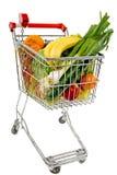 супермаркет тележки Стоковая Фотография