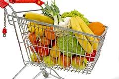 супермаркет тележки Стоковые Фото
