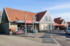 Супермаркет шпата в вертепе Hoorn, Нидерланд стоковые фотографии rf