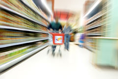 супермаркет Стоковое фото RF