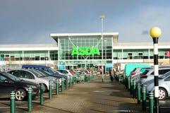 Супермаркет Asda Стоковое Фото