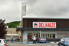 Супермаркет Delhaize Стоковая Фотография RF