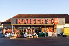 Супермаркет Kaiser's Стоковая Фотография