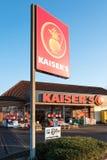 Супермаркет Kaiser's Стоковые Фотографии RF