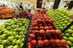 Супермаркет Waitrose Дубай 8-ого августа я Стоковые Фото