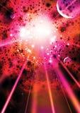 супернова предпосылки Стоковое Изображение