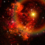 супернова иллюстрация штока