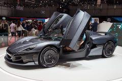Супер автомобиль концепции спорт стоковое фото rf