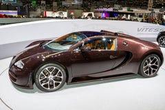 Супер автомобиль спорт в Женеве Стоковые Фото