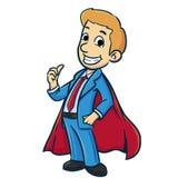 Супер бизнесмен Стоковое Изображение RF