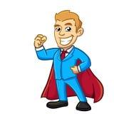 Супер бизнесмен Стоковая Фотография