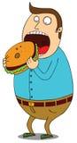 Супер бургер Стоковое Изображение