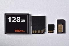 Супер быстрые карты памяти Стоковая Фотография RF