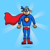 Супер герой иллюстрация вектора