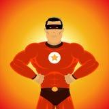 супер героя мощное Стоковые Фото