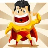 супер героя сильное Стоковая Фотография RF