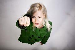 супер женщина Стоковое Изображение RF
